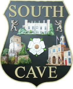 South Cave Plaque